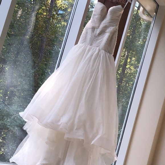Ivory Halter Mermaid Wedding Dress For Sale